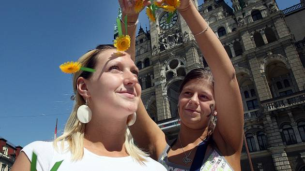 Český den proti rakovině, dříve známý jako Květinový den. Ilustrační foto.