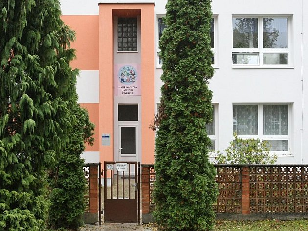 Mateřská škola Jablůňka v Jabloňové ulici v Pavlovicích.