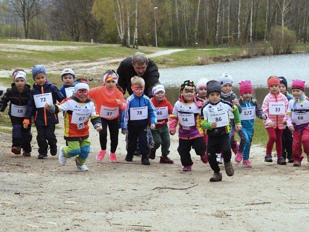 Druhý ročník běžeckého závodu Alisy Běh Trojmezím, který se koná v krásném rekreačním areálu Kristýna v Hrádku nad Nisou dne 14. dubna 2018.