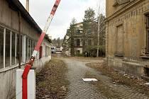 Areál bývalého Slezanu ve Frýdlantu.