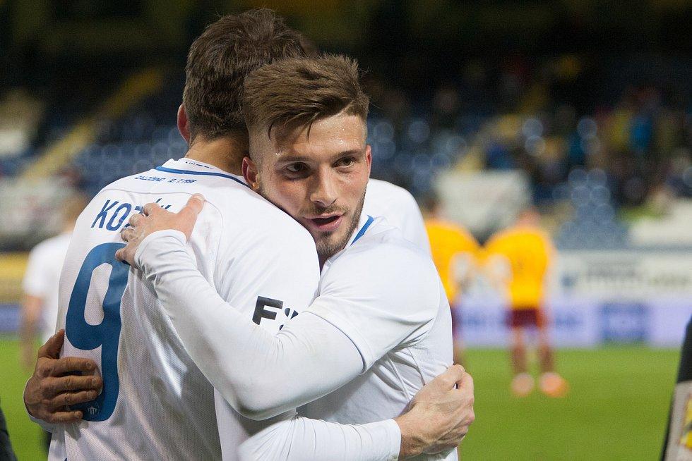 22. kolo fotbalové Fortuna ligy mezi FC Liberec a FK Dukla Praha