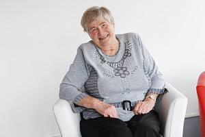 Margita Štěpánková z domova důchodců ve Velkých Hamrech