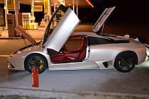 Poškozené Lamborghini