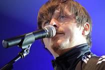 MICHAL MALÁTNÝ. Frontman kapely Chinaski, která v rámci svého turné vystoupí i v Liberci.