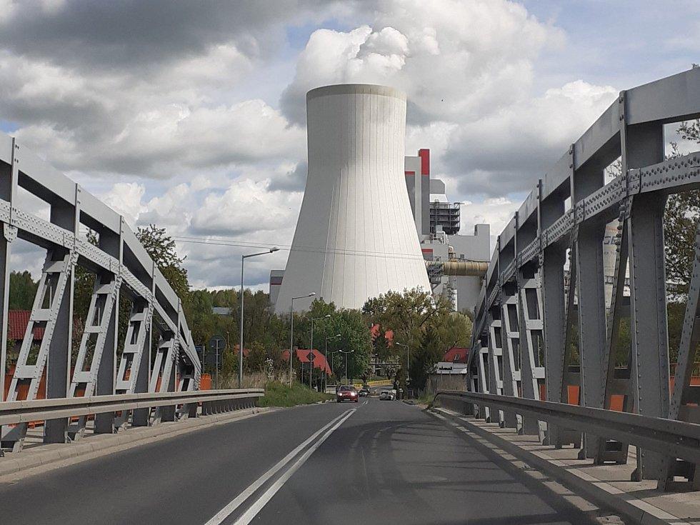 PGE spustila minulý týden nový blok elektrárny, kde se vytěžené uhlí spaluje.