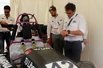 Formule Eliška, kterou letos zkonstruovali studenti na Fakultě strojní Technické Univerzity v Liberci, se umístila na 29. příčce.