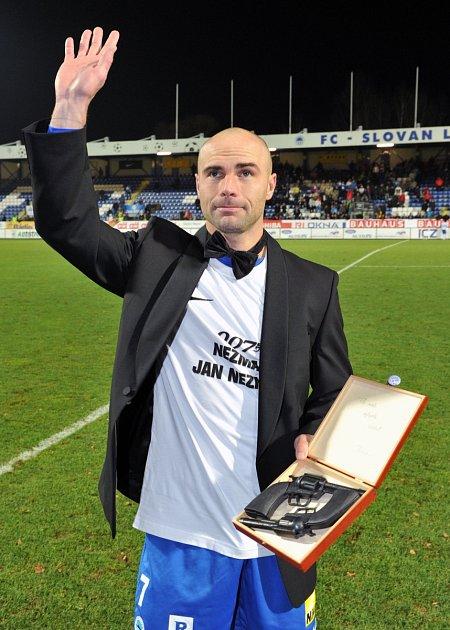 Fotbalista Jan Nezmar se rozloučil se sportovní kariérou.