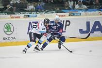 Semifinále hokejové extraligy mezi HC Bílí Tygři Liberec vs HC Kometa Brno