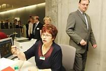 Ministr práce a sociálních věcí Petr Nečas v Liberci otevřel nové pracoviště Krajské správy sociálního zabezpečení.