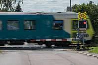 Osobní vlak společnosti Arriva vlaky. Ilustrační fotografie.