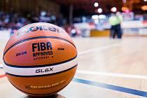 Basketbalový míč. Ilustrační foto.