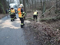 V úterý 9. ledna hasiči vyjížděli k 28 událostem.