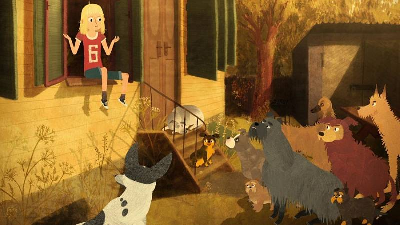 Jacob Mimmi a mluvící psi.