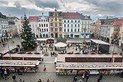 Liberecké adventní trhy byly zahájeny 1. prosince na náměstí Dr. E. Beneše.