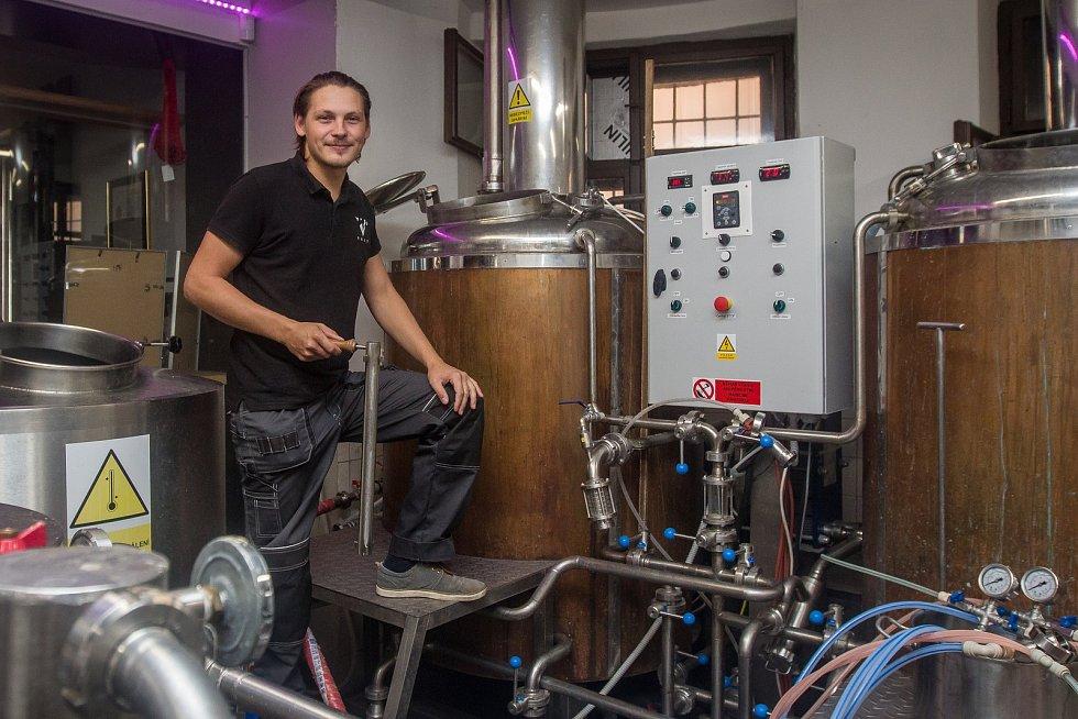 Martin Palouš, sládek pivovaru Volt v Jablonci nad Nisou.