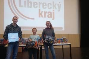 Vítězové krajského kola logické olympiády.