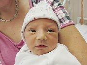 JAKUB HLUBUČEK Narodil se 13. srpna v liberecké porodnici mamince Pavlíně Štětinové z Liberce. Vážil 3,52 kg a měřil 50 cm.