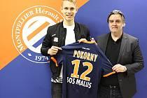 : Bývalý liberecký kapitán Lukáš Pokorný (vlevo) bude v Montpellieru  nosit dres s číslem 12.