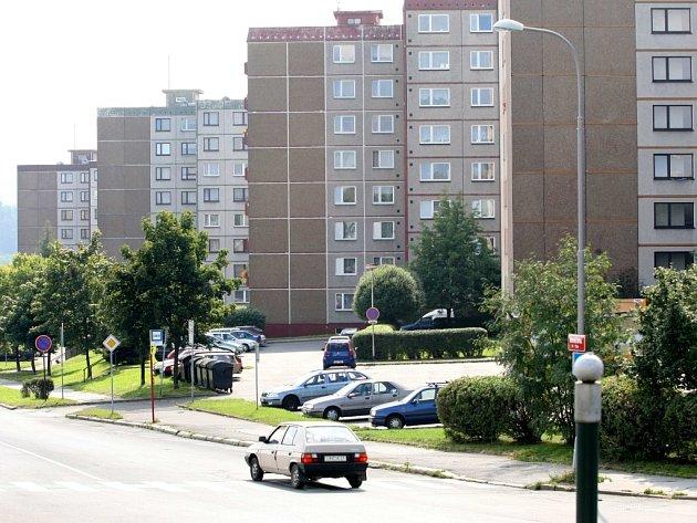 Sídliště Rochlice.