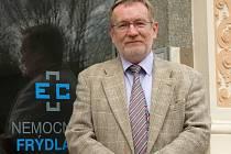 Ředitel nemocnice Frýdlant Jiří Benedikt.