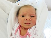 MATILDA KOUBOVÁ Narodila se 13. března v liberecké porodnici mamince HaněKoubové z Jablonného v Podještědí. Vážila 2,72 kg a měřila 48 cm.