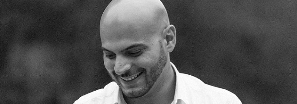 Na fotce hudebník Ahmad Hedar.