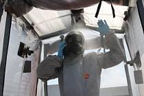 Liberečtí chemici se připravovali na pohotovost.
