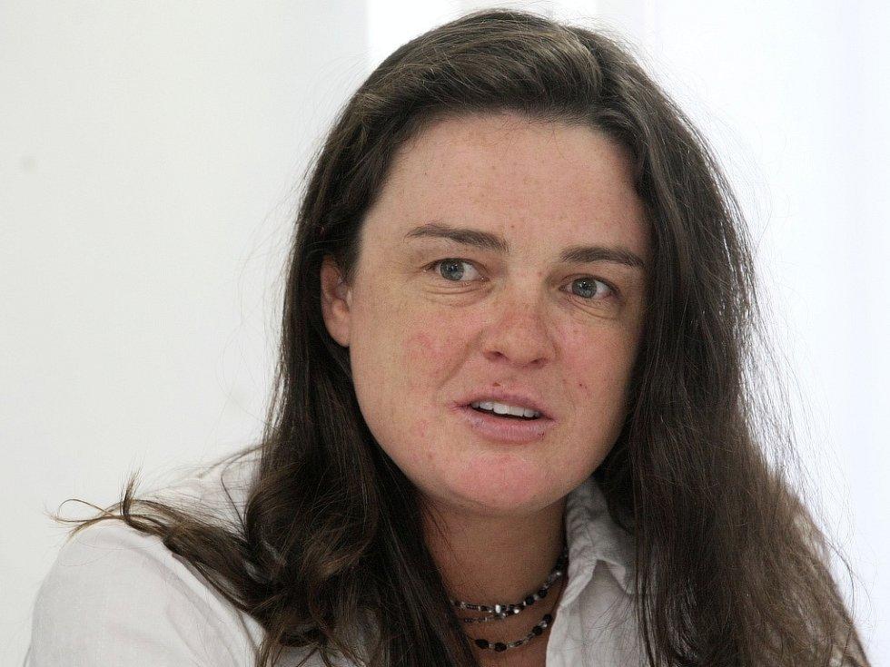 Náměstkyně hejtmana Libereckého kraje, Zuzana Kocumová.
