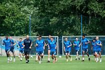 Fotbalisté Slovanu začali s letní přípravou.