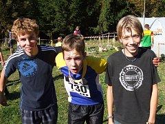 Žáci Ještědské oblasti, orientační běžci.