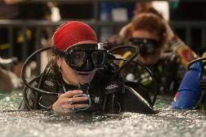 Pokus o překonání největší koncentrace potápěčů v potápěčské věži