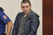 Jednatřicetiletý Moldavan u soudu. Foto: ČTK/ Radek Petrášek