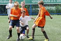 DUEL GHANY SE ŠPANĚLSKEM. Oranžoví vyhráli nad bílými 2:0.