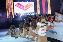 Mistrovství světa v roce 2009 zahajovala velká show.