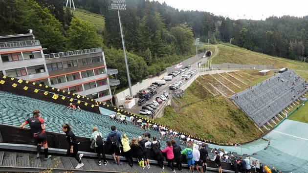 Extrémní běh do můstku - Red Bull Liberec 2021