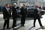 Prezident Miloš Zeman na návštěvě v Tanvaldu.