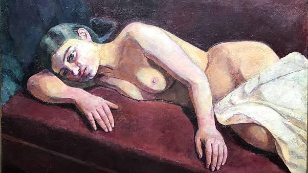 Obraz malíře Eugena von Kahlera.