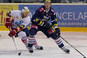 Bílí Tygři Liberec vs. HC ČSOB Pardubice.