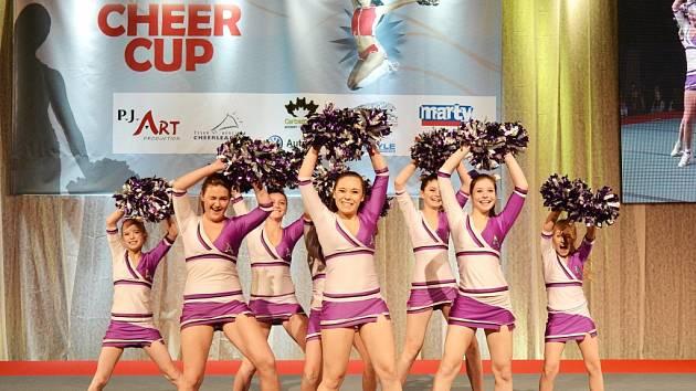 LIBEREC CHEER CUP 2012. Stříbrný tým A-styl Junior Pom Pon Dance.