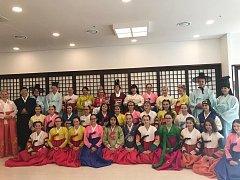 Liberecký sbor Severáček na turné po Jižní Koreji.