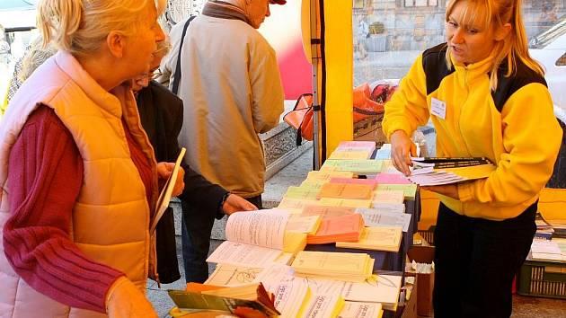 Na náměstí Dr.E.Beneše postavila svoje stany Liga proti rakovině. Lidé se tady seznámili s prevencí proti zhoubné nemoci a vyzkoušeli si svoji kondici.