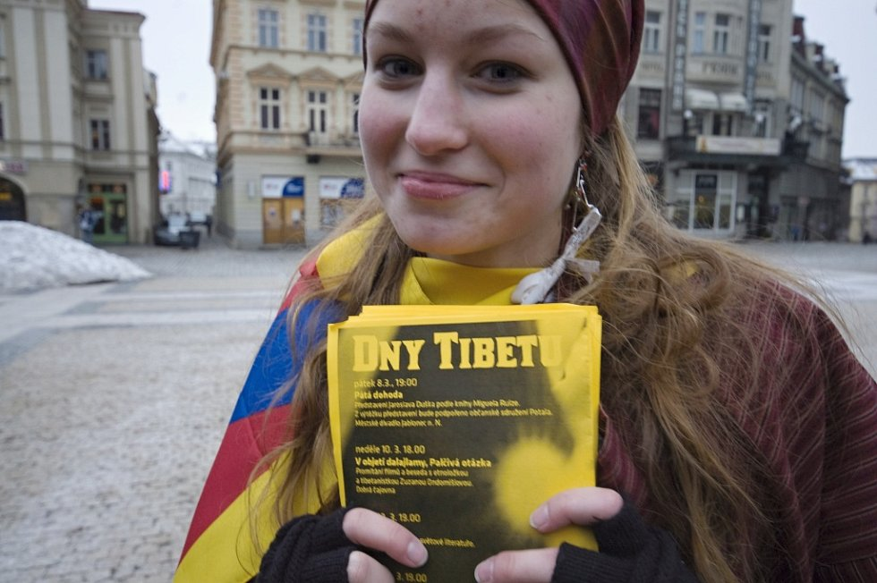 Dny Tibetu v Liberci.