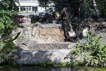 Začali stavět most ve Vratislavicích nad Nisou
