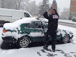 Sníh. Ilustrační foto.
