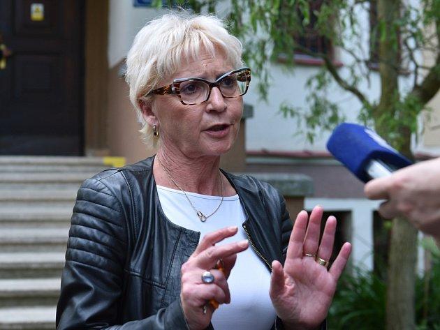Soňa Cpinová pověřená řízením výchovným ústavem v Chrastavě.