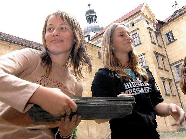 Marcela Heislerová a Lucie Sedláčková.