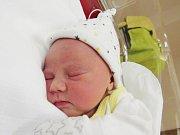 AMÁLIE MARIE WURMOVÁ Narodila se 5. dubna v liberecké porodnici mamince Marii Strnadové z Rumburku. Vážila 2,67 kg a měřila 46 cm.
