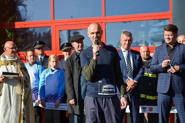 Nová hasičárna zvyšuje bezpečnost obyvatel.
