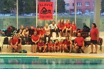 """SLAVIA LIBEREC. Plavci libereckého oddílu získali ve Varnsdorfu třiatřicet umístění """"na bedně""""."""