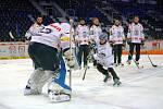 Fanoušci Bílých Tygrů si mohli zabruslit s hokejovým týmem Bílých Tygrů, nebo dokonce zastřílet si na brankáře Vošvrdu.